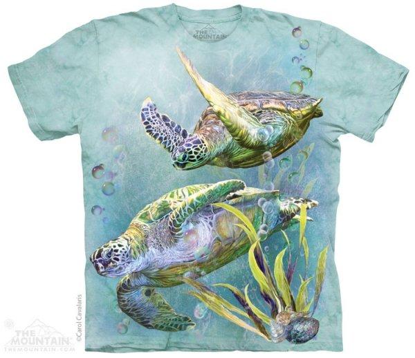 Sea Turtles Swim - T-shirt The Mountain