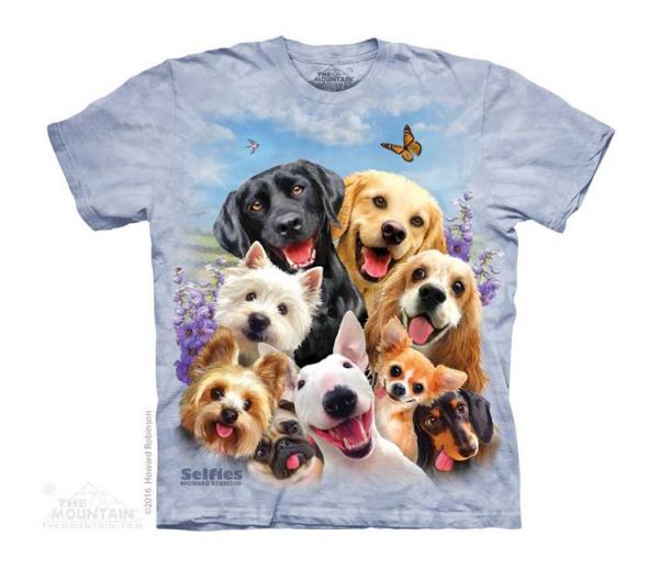 Dogs Selfie -Junior The Mountain