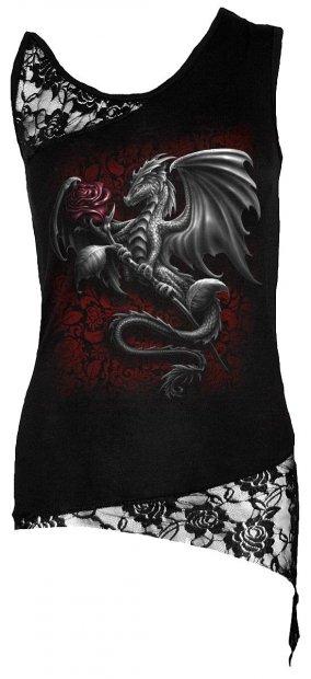 Dragon Rose - Lace Top Spiral - Damska