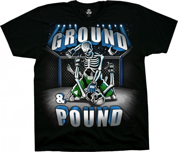 Ground and Pound - Liquid Blue