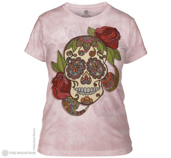 Paisley Sugar Skull - The Mountain - Damska