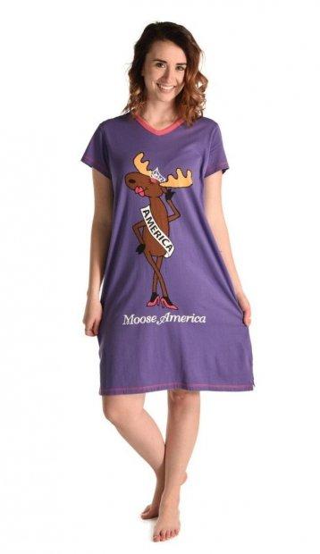 Moose America Nightshirt - Koszula Nocna - LazyOne