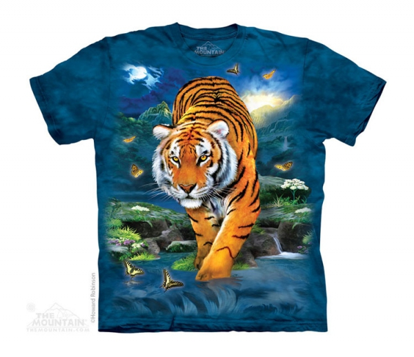3D Tiger - The Mountain - Junior