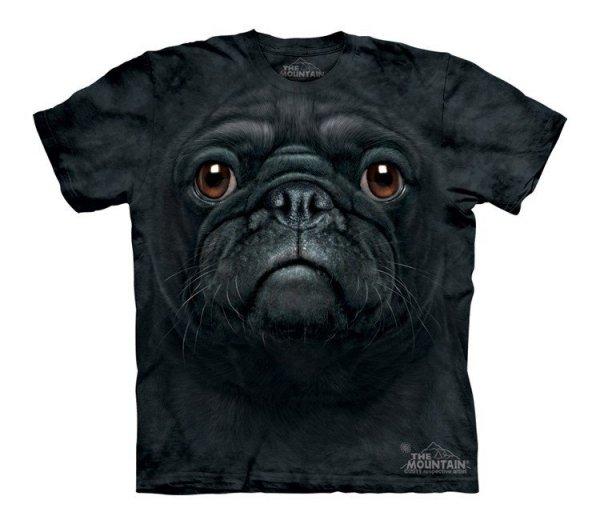 Black Pug Face - The Mountain - Junior