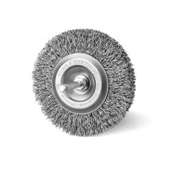 Szczotka tarczowa FI 90 trzpień stalowa (009-ASA)
