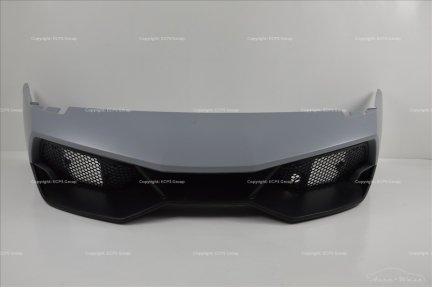 Lamborghini Murcielago LP670-4 SV Complete front bumper with lower diffuser and mesh grilles