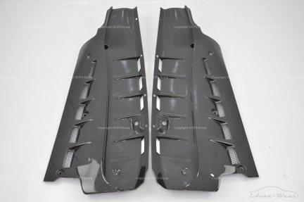 Ferrari F430 430 Scuderia F136E Engine compartment carbon panel left + right