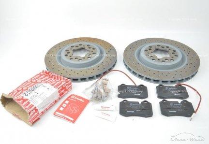 Ferrari 360 Modena Spider F430 F131 New original brake discs with pads
