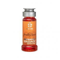 Owocowy olejek do masażu - Swede Fruity Love Massage Apricot Orange 50 ml Morela Pomarańcza