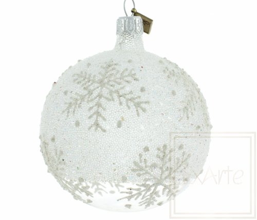 Christbaumkugel 8cm - Eisland