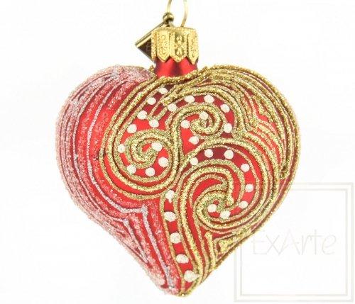 Herz 5cm – Karminrote Leidenschaft