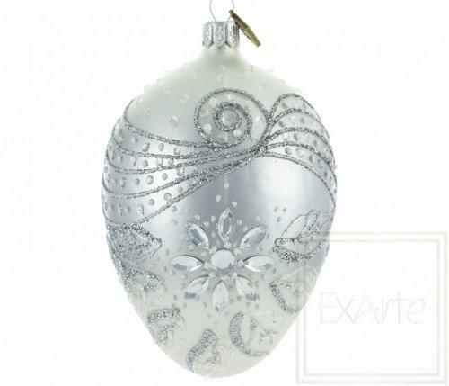 Deko Ei 13cm - Kristallblume