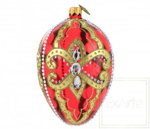 Ei 13 cm – Königliches Rot