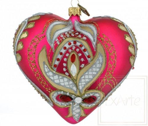 Serce 12cm - Gorące uczucie
