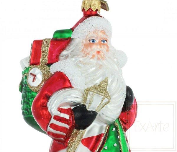 Klassische Weihnachtsbaumkugeln Nikolaus front