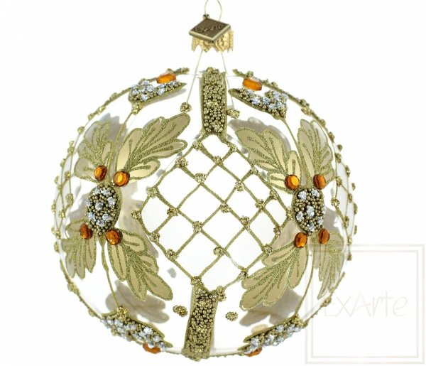 Ball 10cm - Goldnetz