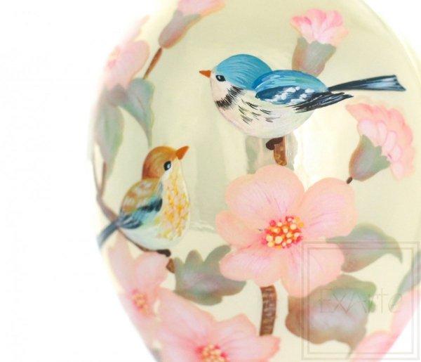 Jajko 13cm - Z ptaszkami