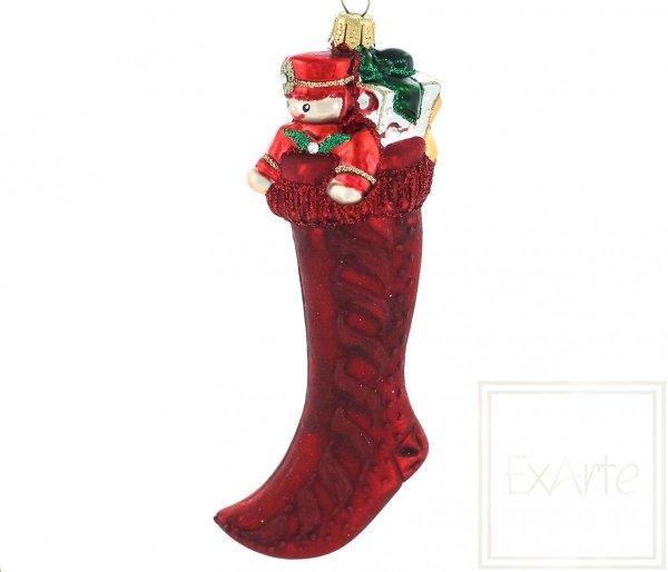 Skarpeta z prezentami - 15cm