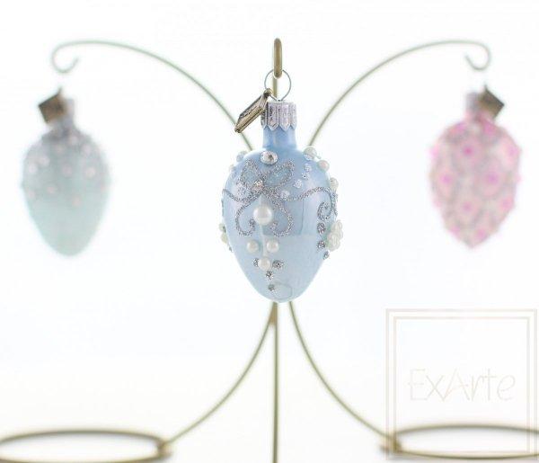 Jajeczka 5cm, 3 sztuki - Perłowe pastele