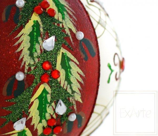 bombki bożonarodzeniowe ostrokrzew