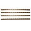 Escrima ratanowa przypalana - styl tygrysi . Długość 66 cm.