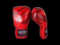 Rękawice bokserskie skórzane MASTERS RBT-RED 14 oz