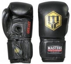 Rękawice bokserskie skórzane GOLIAT 18 oz - RBT-18G-A