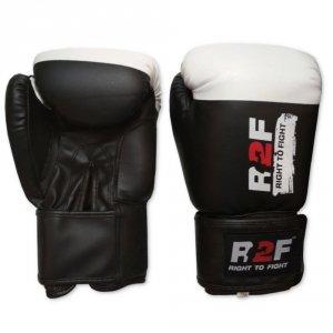 Rękawice skaj R2F M1 czarne 10-14oz