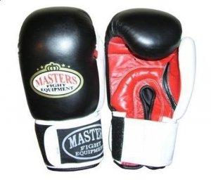 Rękawice bokserskie MASTERS - RBT-50 - skóra