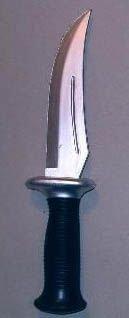 Nóż gumowy, szeroki profilowany
