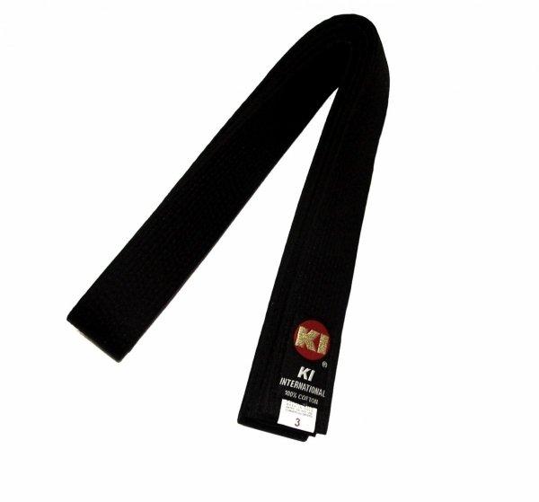 "Czarny Pas KI High Quality Black Belt 1 3/4"""