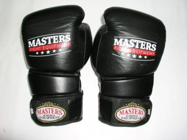 Rękawice bokserskie RBT E - skóra naturalna