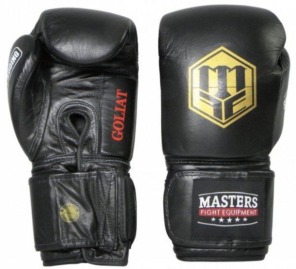 Rękawice bokserskie skórzane GOLIAT 16 oz - RBT-16G-A
