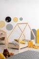 Loca A 70x160cm Łóżko dziecięce drewniane ADEKO