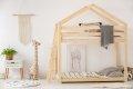 DMPB 70x140cm Łóżko piętrowe dziecięce domek Mila ADEKO