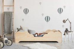 BOX 10 60x120cm Łóżko drewniane dziecięce