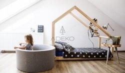 Łóżko drewniane Mila DMS 80x140cm