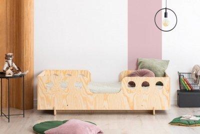 KIKI 15  90x170cm Łóżko dziecięce drewniane ADEKO