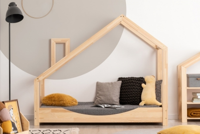 Luna E 70x180cm Łóżko dziecięce drewniane ADEKO