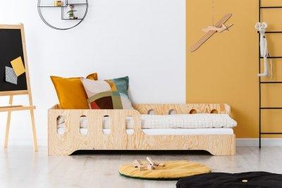 KIKI 1 - P 80x150cm Łóżko dziecięce drewniane ADEKO