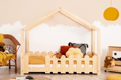 ZIZI B 80x160cm Łóżko dziecięce domek ADEKO