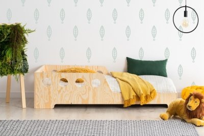 KIKI 16  80x150cm Łóżko dziecięce drewniane ADEKO