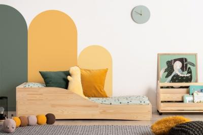 PEPE 3 90x160cm Łóżko drewniane dziecięce