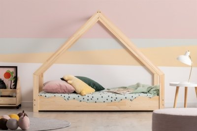 Loca D 80x180cm Łóżko dziecięce drewniane ADEKO
