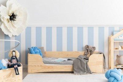 PEPE 4 90x140cm Łóżko drewniane dziecięce