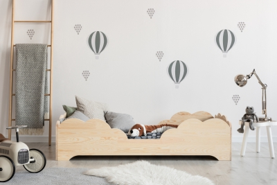 BOX 10 90x160cm Łóżko drewniane dziecięce