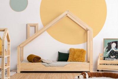 Luna B 70x200cm Łóżko dziecięce drewniane ADEKO