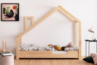 Luna C 70x180cm Łóżko dziecięce drewniane ADEKO