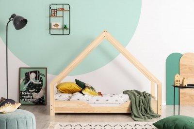 Loca B 80x190cm Łóżko dziecięce drewniane ADEKO