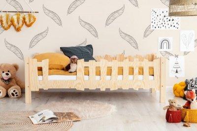 Pikko B 70x180cm Łóżko dziecięce domek ADEKO
